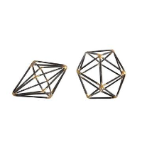 Round Geometric Decor Sets