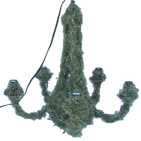 5 Light Moss Chandelier
