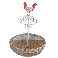 Rooster Wire Basket