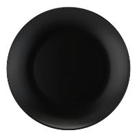 Matte Black Stoneware 10.5