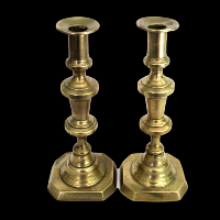 Brass Candlesticks #329