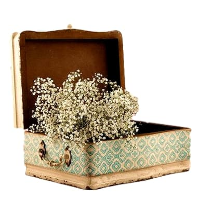 Blue & Cream Vintage Inspired Box