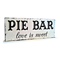 Pie Bar Sign