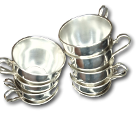 Silver Punch Cups