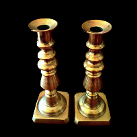 Brass Candlesticks #331
