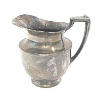 Tarnished Silver Water Jug #2