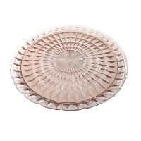 Large Pink Diamond Pattern Serving Tray
