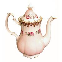 Vintage Pink Coffee Pot