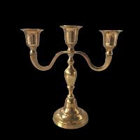 Brass Candleabra #640