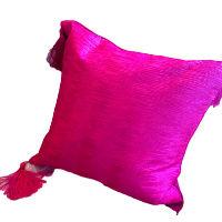Brilliant Pink Square Pillows