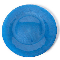 Blue Glass Charger Plates