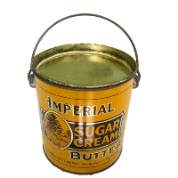 Vintage Imperial Sugar Cream Butter Tin