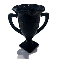 Black Vases with Handles