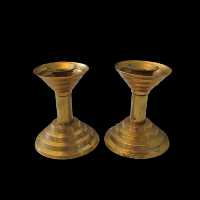 Brass Candlesticks #321