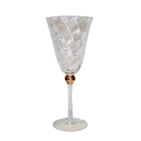 Gold Ball Wine Glasses