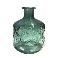 Rich Green Vases