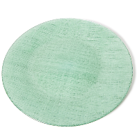 The Head Table Collection: Green Glass Charger Plates