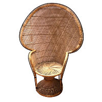 Rattan Peacock Chair #2