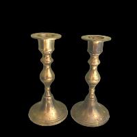 Brass Candlesticks - Petite