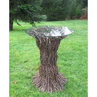 Tree Table with Glass Top