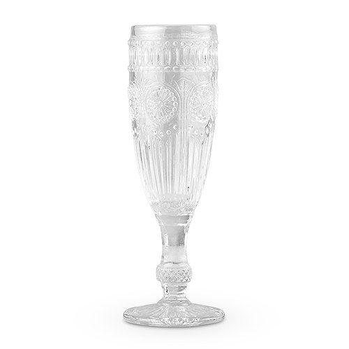 Clear Vintage Style Flutes