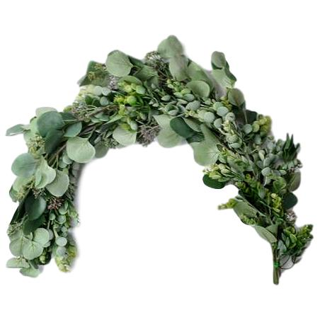 "3' ""West Coast"" Faux Greenery Garland"