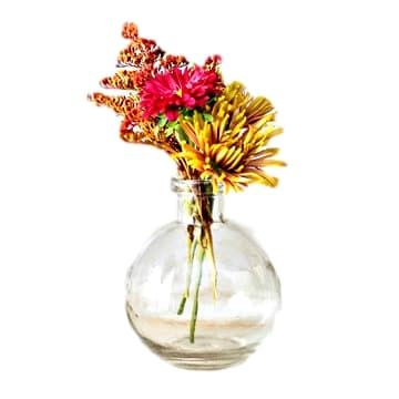 Clear Ball Vases