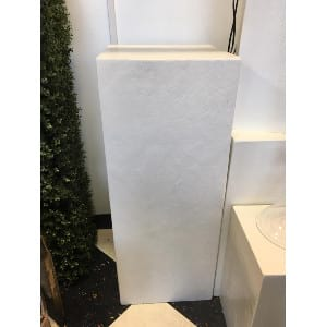 Hilly-Large White Pedestal