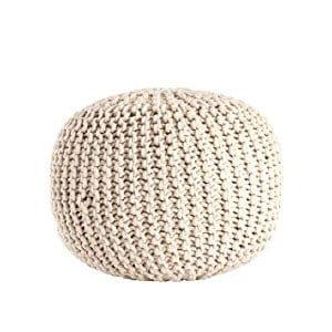 Jaime - Knit Pouf