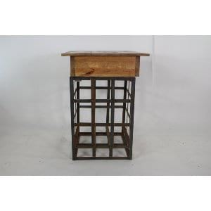 Christina - Wood Iron Cocktail Table