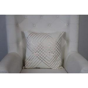 Ember - White Copper Pillow