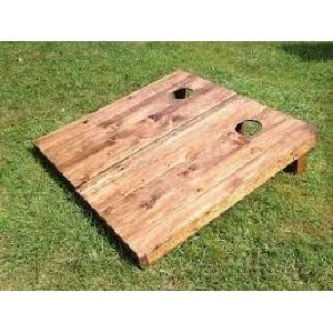 Wooden Corn Hole Boards & Bean Bags