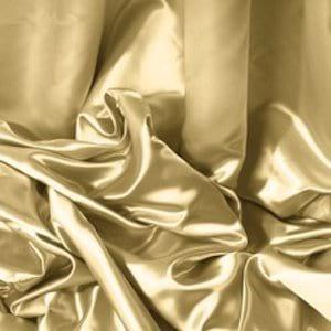 Gold Satin Draping Panel