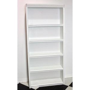Lena - White Wooden Shelves
