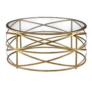 Cora Gold Coffee Table