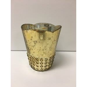 Missy - Gold Votive Large