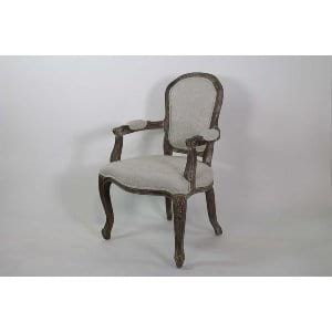 Amy - Greige Dining Chair