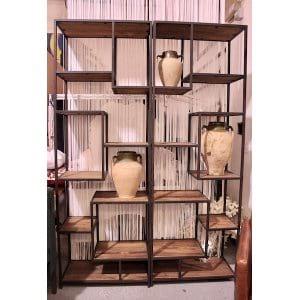 Delilah Shelves - Iron + Wood