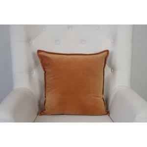 Kaia - Persimmon Velvet Pillow