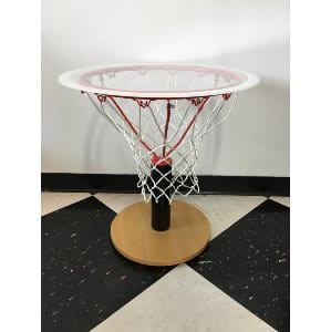 Basketball Hoop Side Table