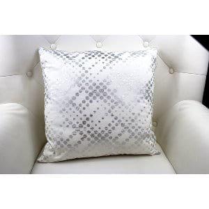 Jean - Silver Dots Pillow