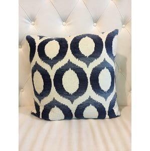Diana - White Navy Pillow