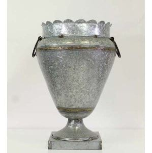 Annette - Tin Oversized Urn