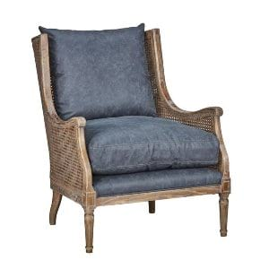 Wilma - Slate Wicker Arm Chair
