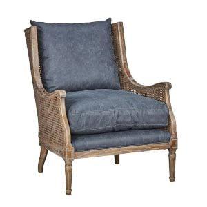 Wilma - Slate Wicker Arm Chair