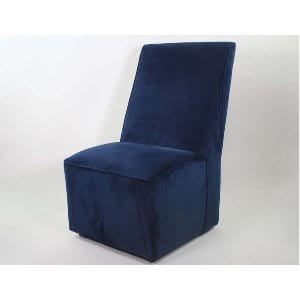 Evelyn - Navy Lounge Chair