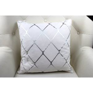 Judith - White Silver Pillow