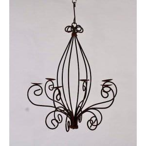 Hermine - Iron Candle Holder Large
