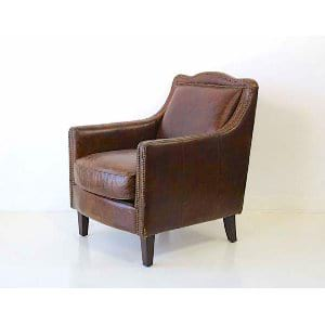 Harper - Brown Leather Chair