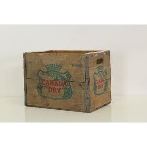 Bessie Vintage Canada Dry Crate - Large